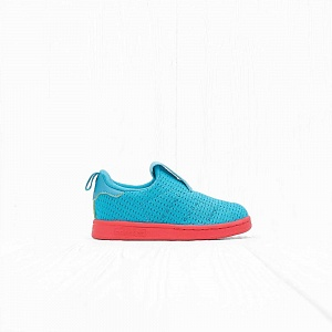 Кроссовки Adidas I STAN SMITH 360 Shock Green/Real Coral S18