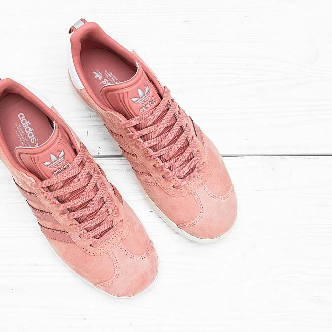 Кроссовки Adidas W GAZELLE Off Rose/Off White/Off White - Фото 1