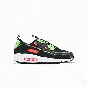 Кроссовки Nike AIR MAX 90 WW Black/Flash Crimson