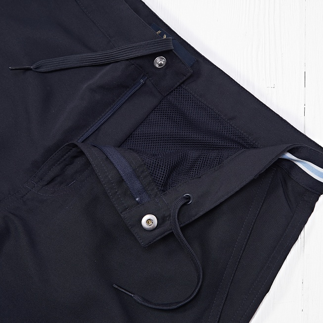 Шорты Fred Perry BOMBER Navy - Фото 3