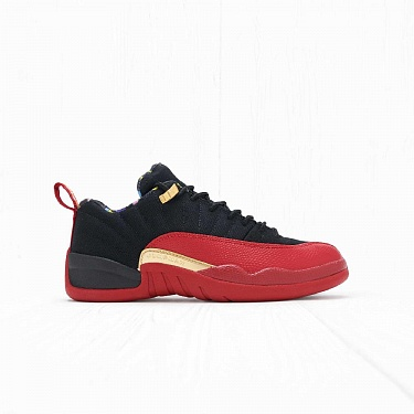 Кроссовки Jordan AIR JORDAN 12 RETRO LOW SE Black/Metallic Gold-Varsity Red