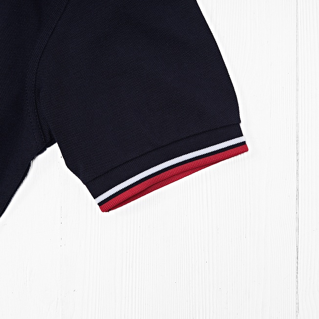 Поло Fred Perry TWIN TIPPED Navy/White - Фото 4