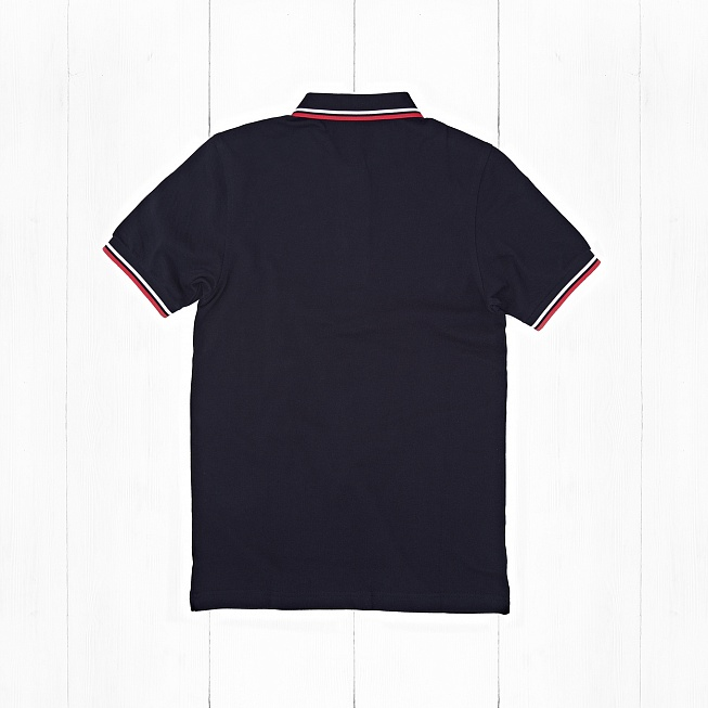 Поло Fred Perry TWIN TIPPED Navy/White - Фото 1