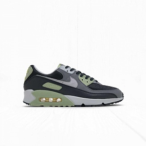 Кроссовки Nike AIR MAX 90 Black Grey Oil Green