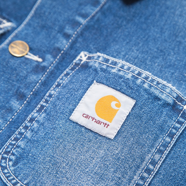 Куртка Carhartt MICHIGAN Blue True Stone - Фото 3