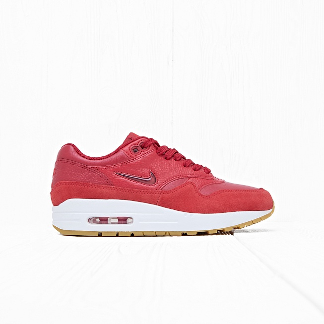 Кроссовки Nike W AIR MAX 1 PRM SC Gym Red/Gym Red-Speed Red