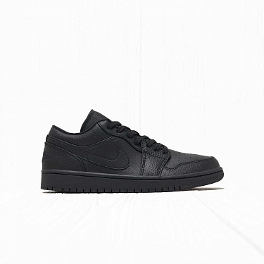 Кроссовки Jordan AIR JORDAN 1 LOW Black/Black-Black