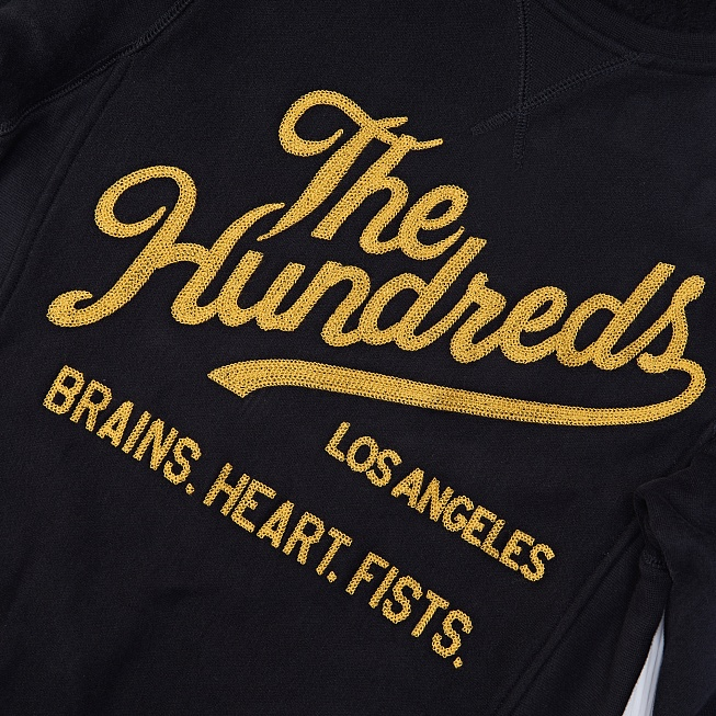 Свитшот The Hundreds TRADITION Black - Фото 3