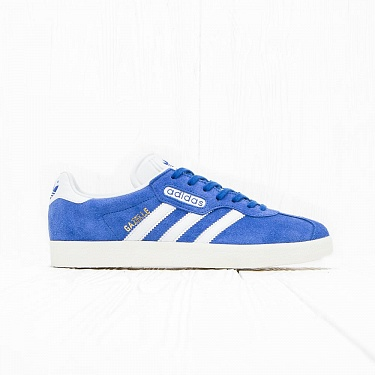 Кроссовки Adidas GAZELLE SUPER Blue/Vintage White/Gold Metallic