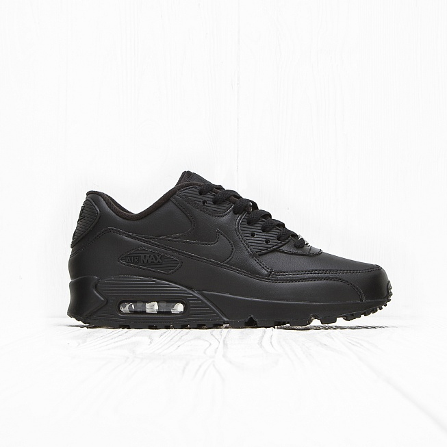 Кроссовки Nike AIR MAX 90 LEATHER Triple Black