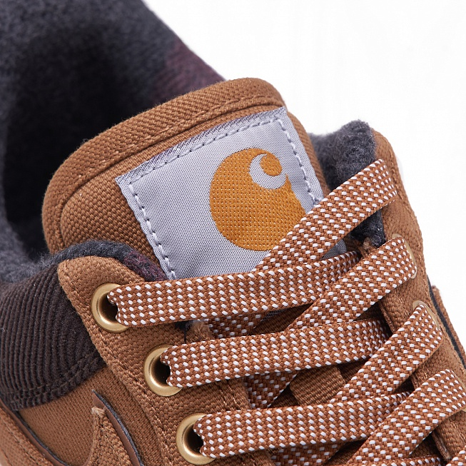 Кроссовки Nike x Carhartt WIP AIR FORCE 1 07 PRM Ale Brown/Ale Brown/Sail - Фото 4