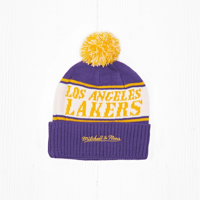 Шапка M&N LOS ANGELES LAKERS - Фото 1