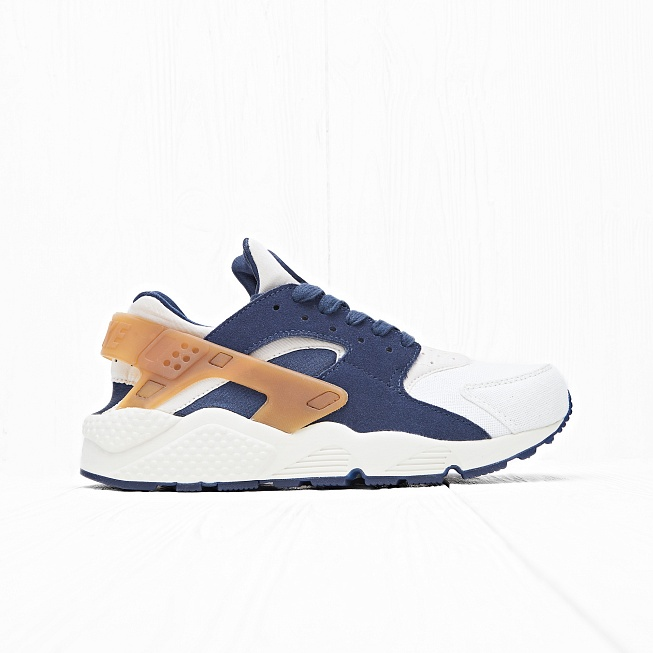 Кроссовки Nike AIR HUARACHE RUN Sail/Midnight Navy/Ale Brown
