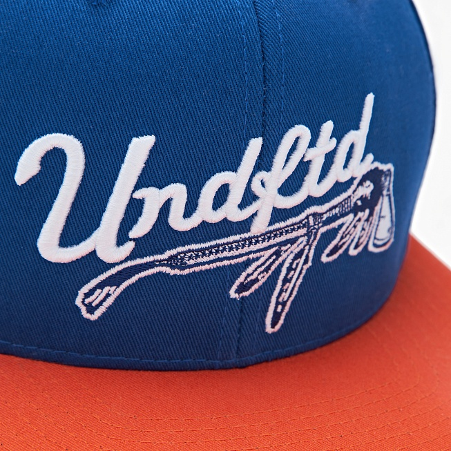 Бейсболка Undefeated WAR PAINT CAP Blue - Фото 1