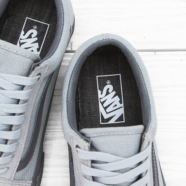 Кеды Vans OLD SKOOL (CD) High Rise/Pewter - Фото 5