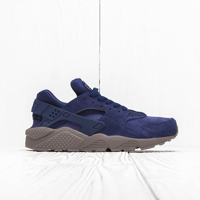Кроссовки Nike AIR HUARACHE RUN SE Binary Blue/Dark Grey