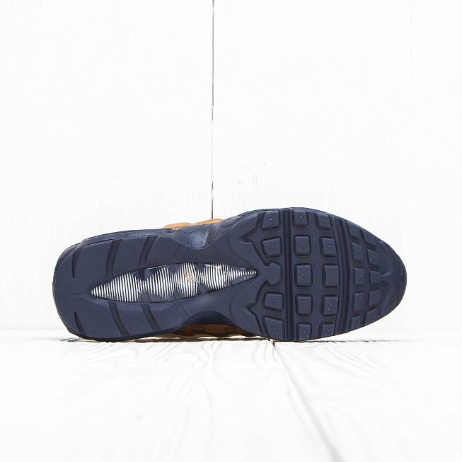 Кроссовки Nike AIR MAX 95 PRM Ale Brown/Midnight Navy/Sail/Pearl Pink - Фото 3