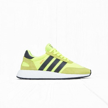 Кроссовки Adidas INIKI RUNNER Solar Yellow/Black/White