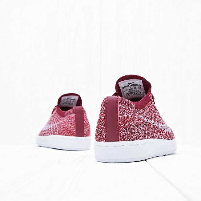 Кроссовки Nike W TENNIS CLASSIC ULTRA FLYKNIT Red/White Team-Smoke Red - Фото 2
