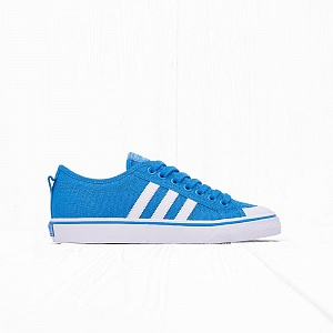 Кеды Adidas NIZZA Bright Blue/White/White