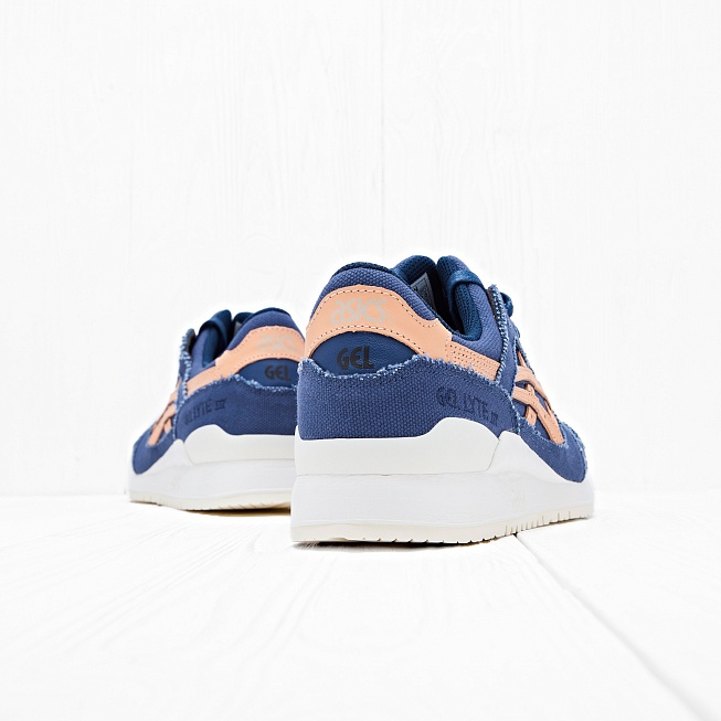 Кроссовки Asics Tiger GEL-LYTE III Indigo Blue/Tan - Фото 6