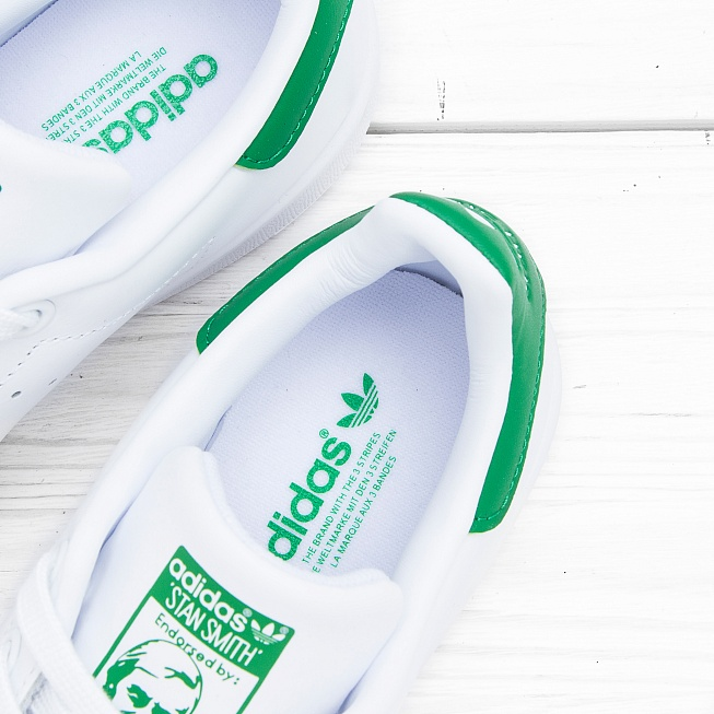 Кроссовки Adidas STAN SMITH Running White/Running White/Fairway - Фото 5