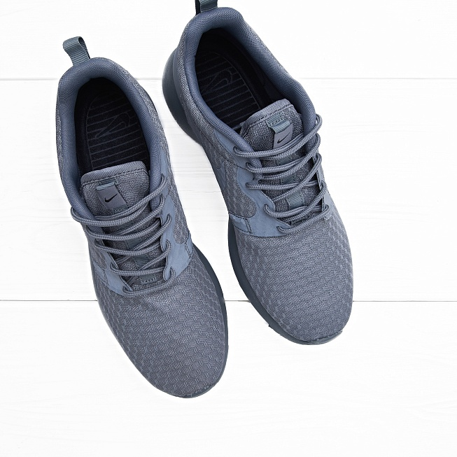 Кроссовки Nike ROSHE ONE HYP Cool Grey - Фото 2
