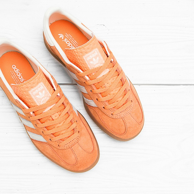 Кроссовки Adidas GAZELLE INDOOR St Tropic Melon/Cream White  - Фото 3