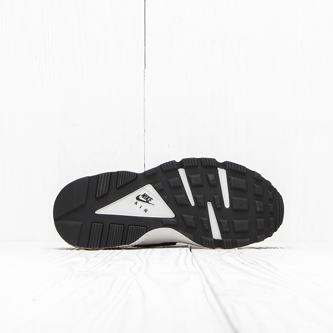 Кроссовки Nike W AIR HUARACHE RUN PRM Black/Black-White - Фото 3