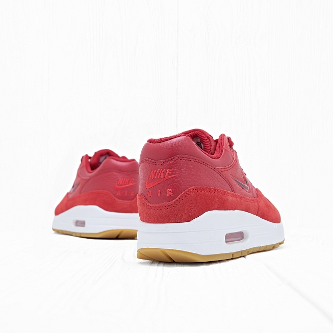 Кроссовки Nike W AIR MAX 1 PRM SC Gym Red/Gym Red-Speed Red - Фото 2