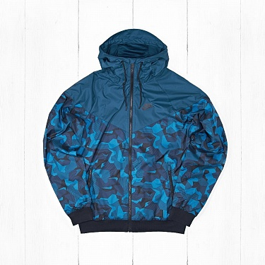 Ветровка Nike M NSW WINDRUNNER Camo Blue