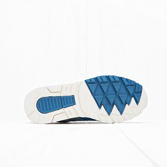 Кроссовки Saucony GRID SD Quilted Blue/Grey - Фото 1