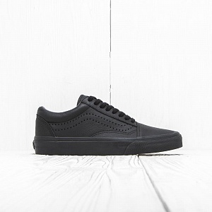 Кеды Vans OLD SKOOL REISSUE Black Leather
