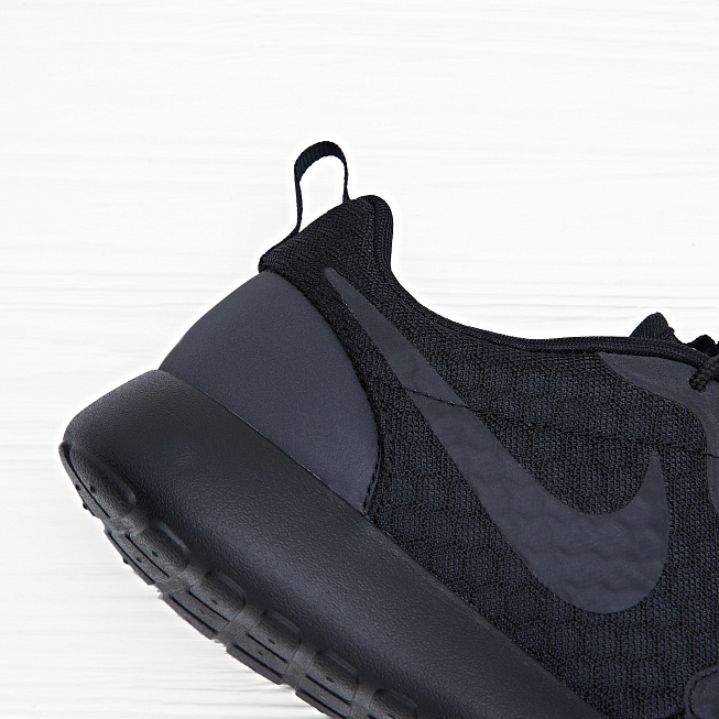 Кроссовки Nike ROSHE ONE HYP Black - Фото 4