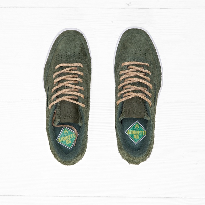 Кроссовки Reebok x Curren$y CLUB C 85 JL Primal Green/White Hemp - Фото 3