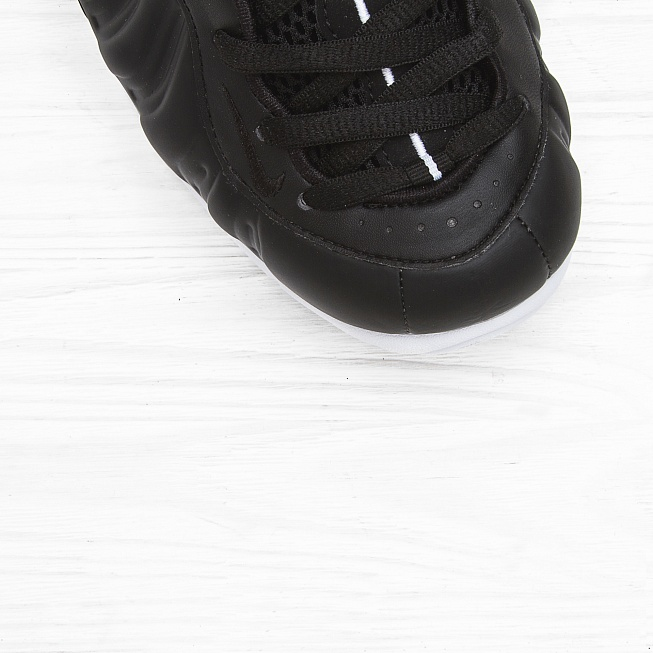 Кроссовки Nike AIR FOAMPOSITE PRO Black/White-Black - Фото 3