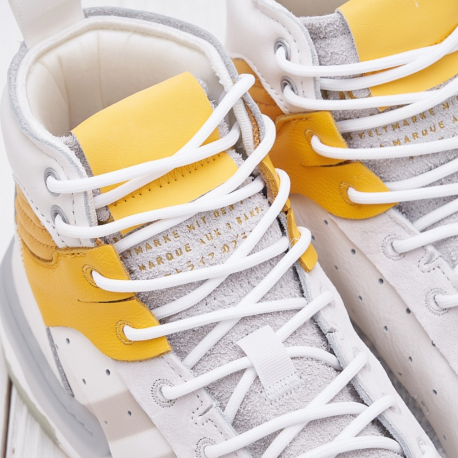 Кроссовки Adidas RIVALRY RM Running White/Crystal White/Cream White - Фото 4