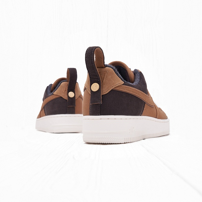 Кроссовки Nike x Carhartt WIP AIR FORCE 1 07 PRM Ale Brown/Ale Brown/Sail - Фото 2