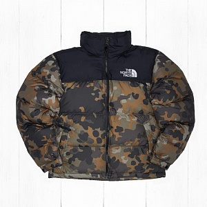 Куртка The North Face 1996 SSNL NUPTSE New Taupe Green Camo