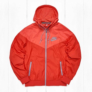 Ветровка Nike WINDRUNNER University Red/Rio/Dove Grey