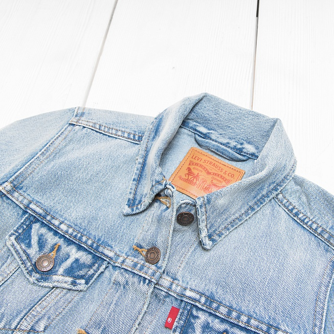 Куртка Levi's THE TRUCKER Blue Sounds - Фото 4