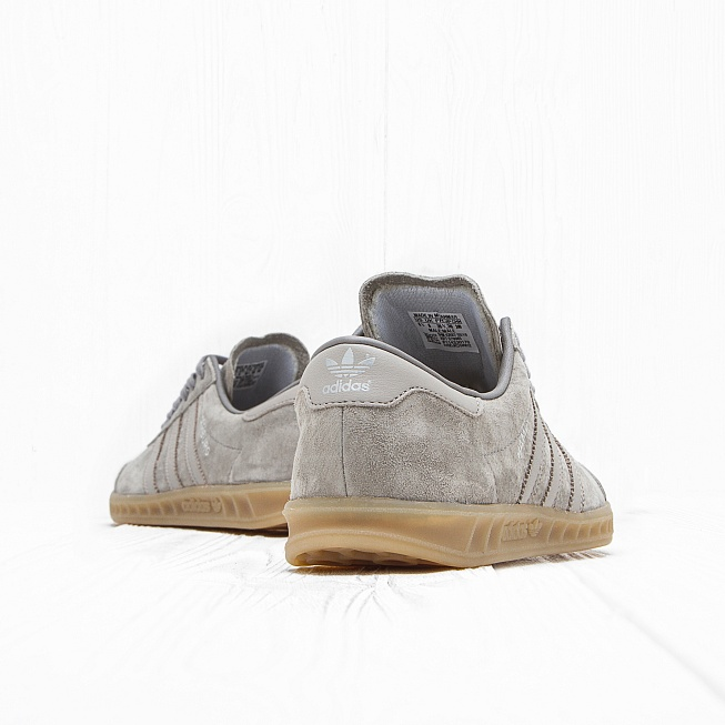Кроссовки Adidas HAMBURG Clear Granite/Clear Grey/Gum - Фото 1