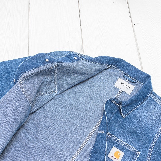 Куртка Carhartt MICHIGAN Blue True Stone - Фото 5