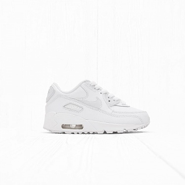 Кроссовки Nike AIR MAX 90 LTR (PS) White/White/Cool Grey
