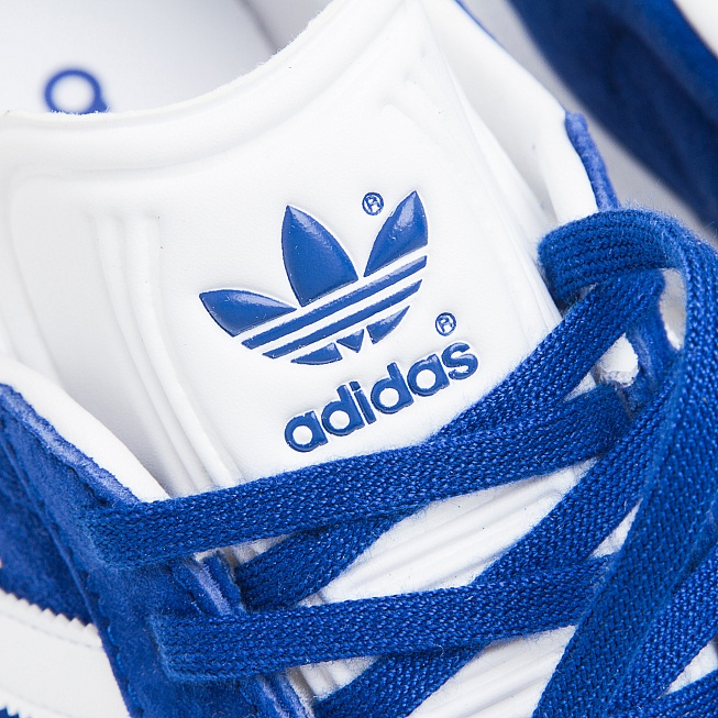 Кроссовки Adidas GAZELLE Collegiate Royal/Off White/Gold Met - Фото 4
