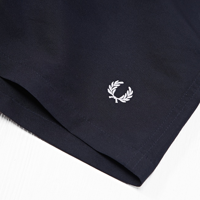 Шорты Fred Perry BOMBER Navy - Фото 4