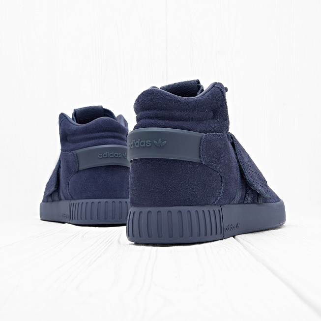 Кроссовки Adidas TUBULAR INVADER STRAP Trace Blue/Trace Blue/Footwear White - Фото 2