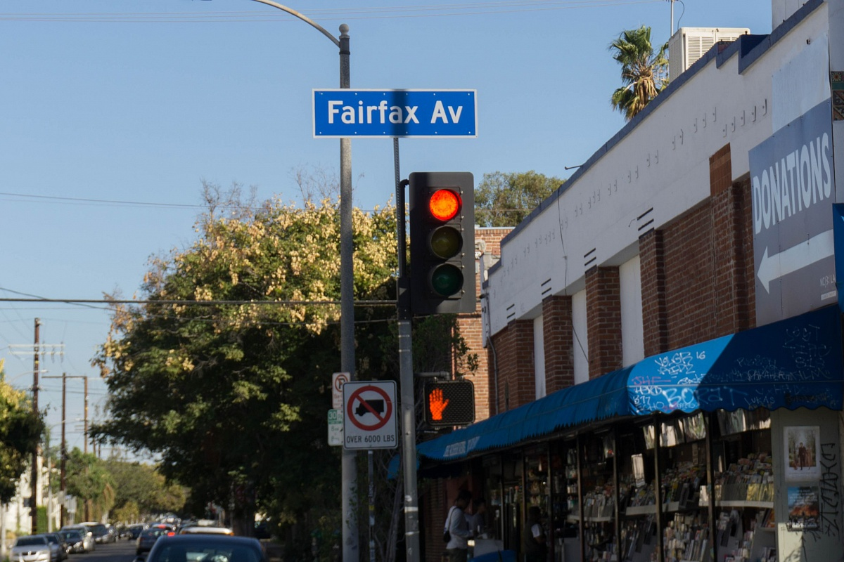 Fairfax Avenue, Los Angeles, CA