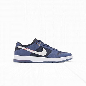 Кроссовки Nike SB ZOOM DUNK LOW ELITE QS Midnight Navy/White-University