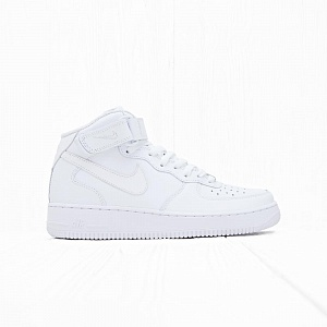 Кроссовки Nike AIR FORCE 1 MID 07 White/White